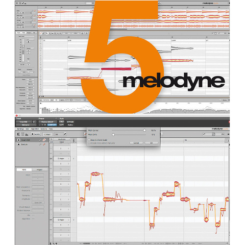 Celemony Melodyne Editor 5 Pitch and Time Software eLicenese