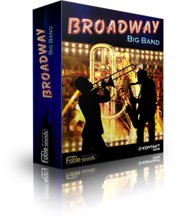 Fable Sounds Broadway Big Band 2.0 Mac PC Jazz Instrument